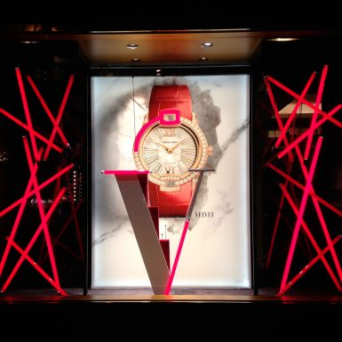 Windows Animation - Roger Dubuis